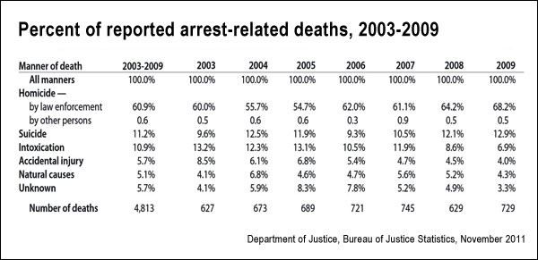 Death In Custody BJS