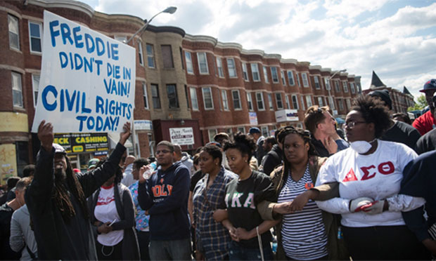 Baltimore protest, 2015 (senate.gov)