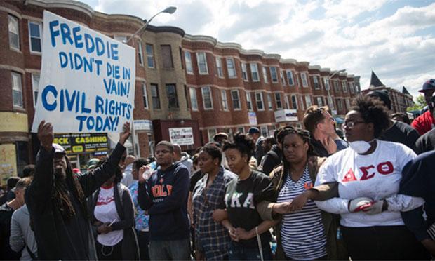 Baltimore protest, 2015 (senate.gov)