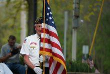 US veteran on Memorial day