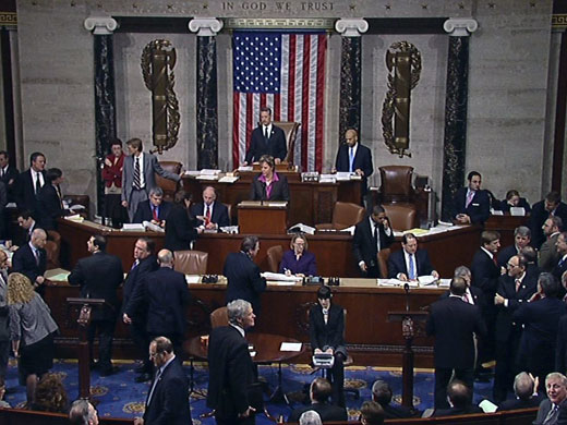 U.S. House of Representatives floor (house.gov)