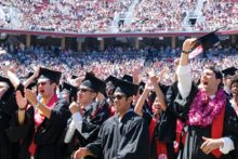 Stanford University graduates (commencement.stanford.edu)