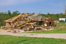 Home after a tornado