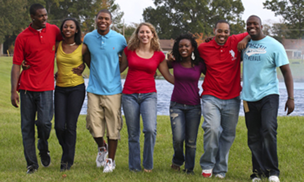 White, Hispanic college students at predominantly black institutions, HBCUs