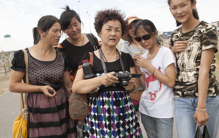 Chinese Tourists Food Buffet