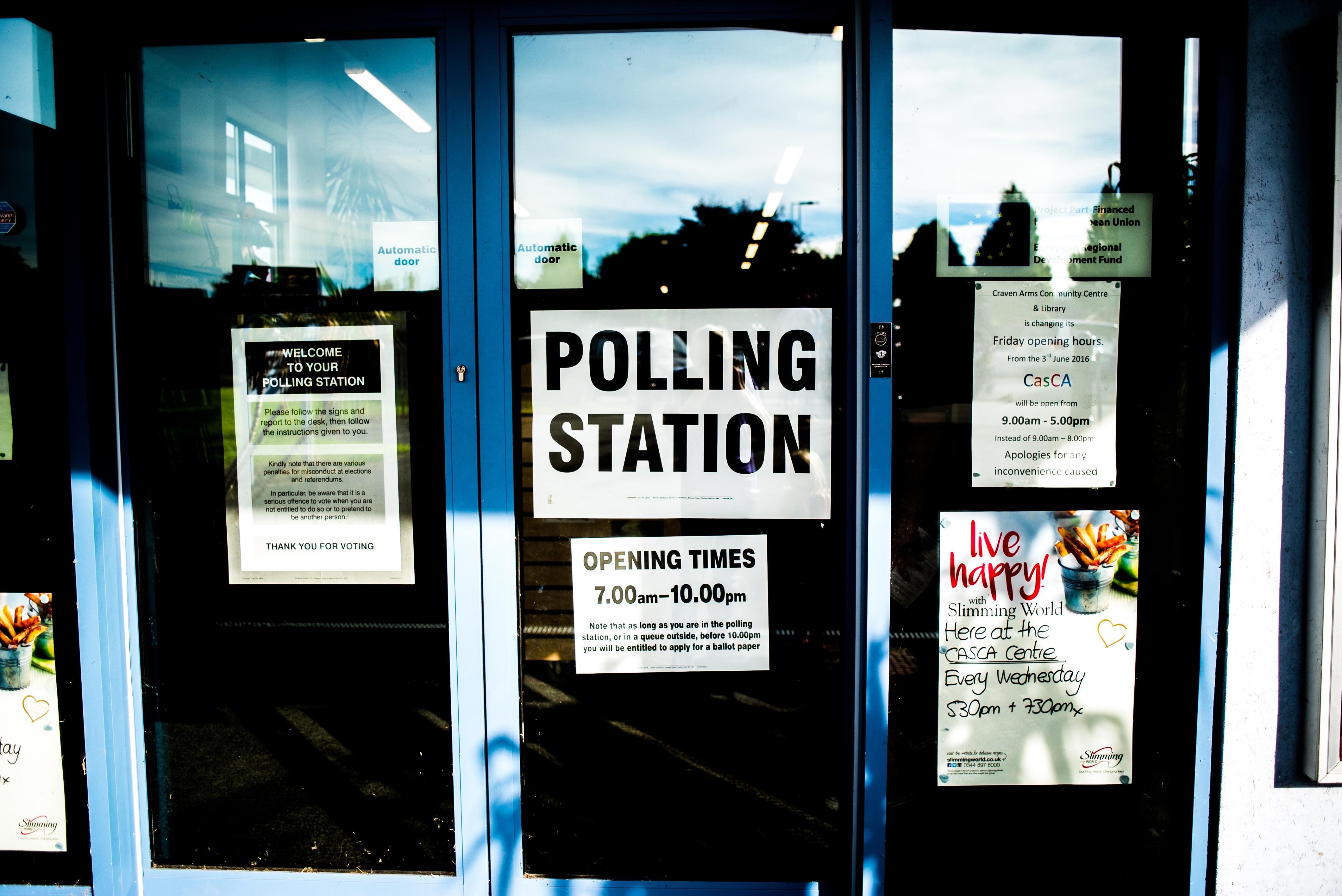 Change polling station online 5