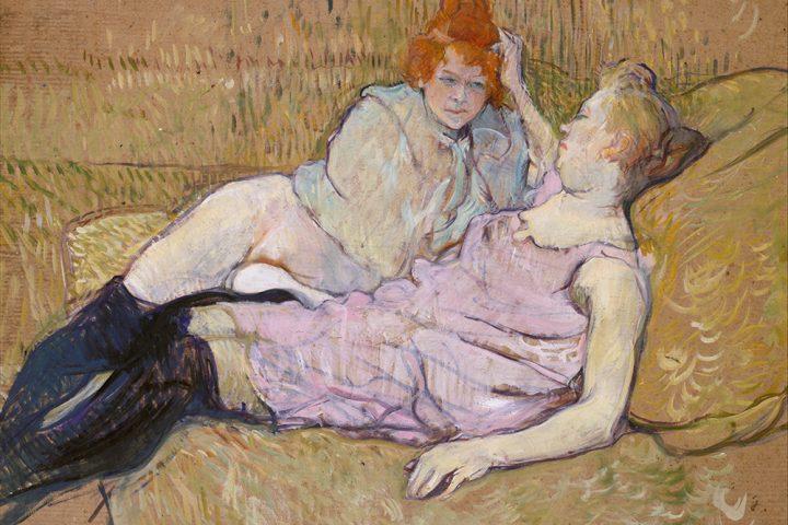 The Sofa, Henri de Toulouse-Lautrec (MetMuseum.org)