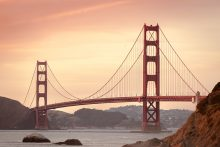 The Golden Gate Bridge in San Francisco was financed with municipal bonds in the 1930s. (Chris Brignola/Unsplash)