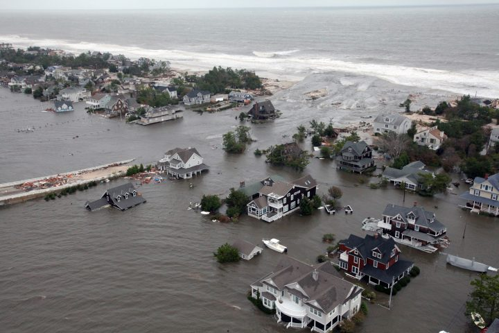 Damage caused by Hurricane Sandy (U.S. Air Force photo/Master Sgt. Mark C. Olsen)