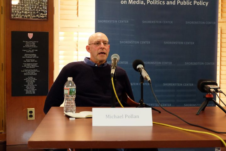 Food author Michael Pollan