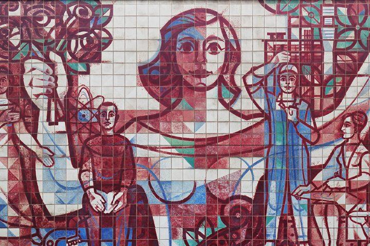 East German mosaic