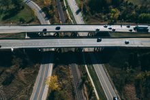cars on overpass