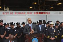 U.S. Senator Cory Booker, former mayor of Newark