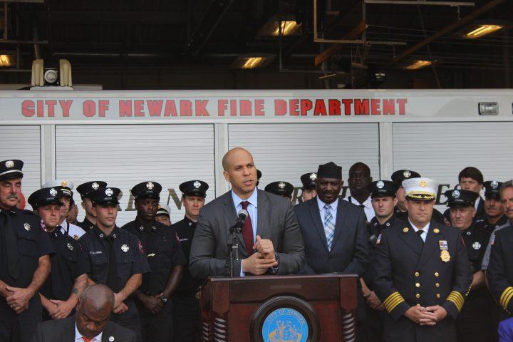 U.S. Senator Cory Booker, former mayor of Newark