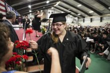 Community College of Vermont graduation 2013