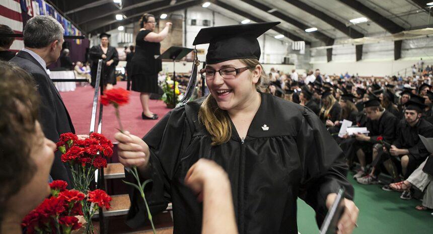 Community College of Vermont graduation 2013