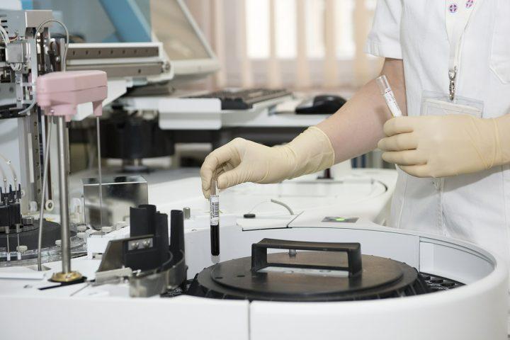 lab scene