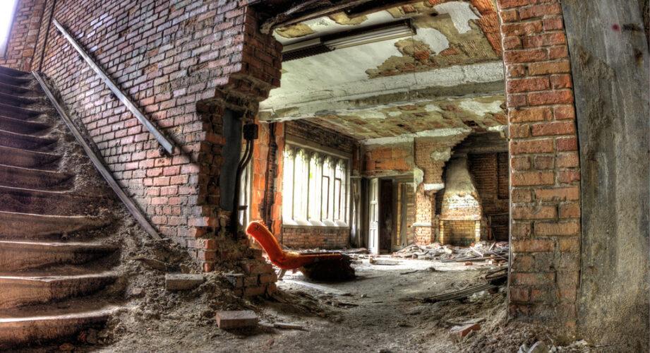 Abandoned City Methodist Church in Gary, Indiana