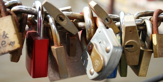 A collection of locks