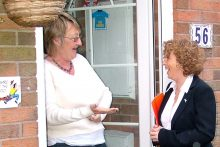 door-to-door canvassing