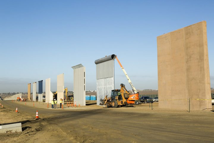 border wall barrier research democratic presidential candidates