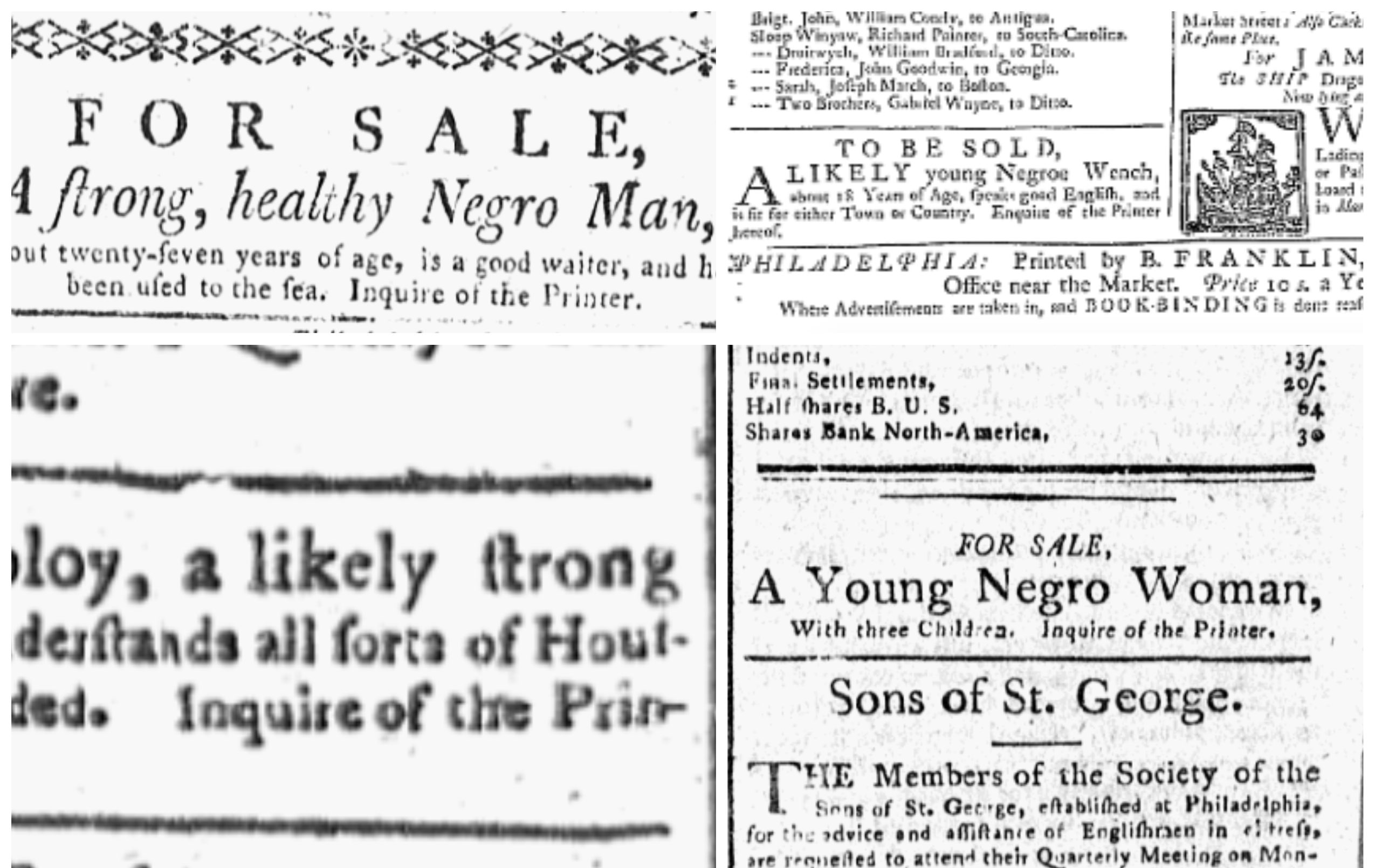 How early U.S. newspapers brokered slavery