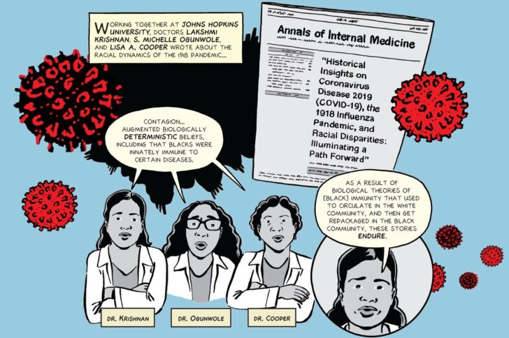 A tale of two pandemics: A nonfiction comic about historical racial health disparities