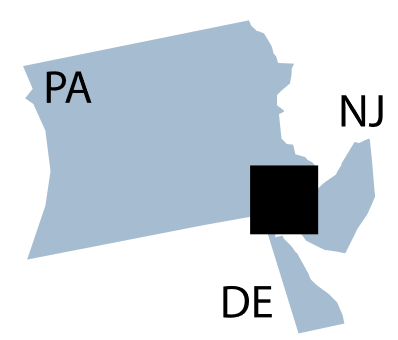 Federal Reserve District 3 map