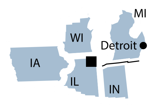 Federal Reserve District 7 map